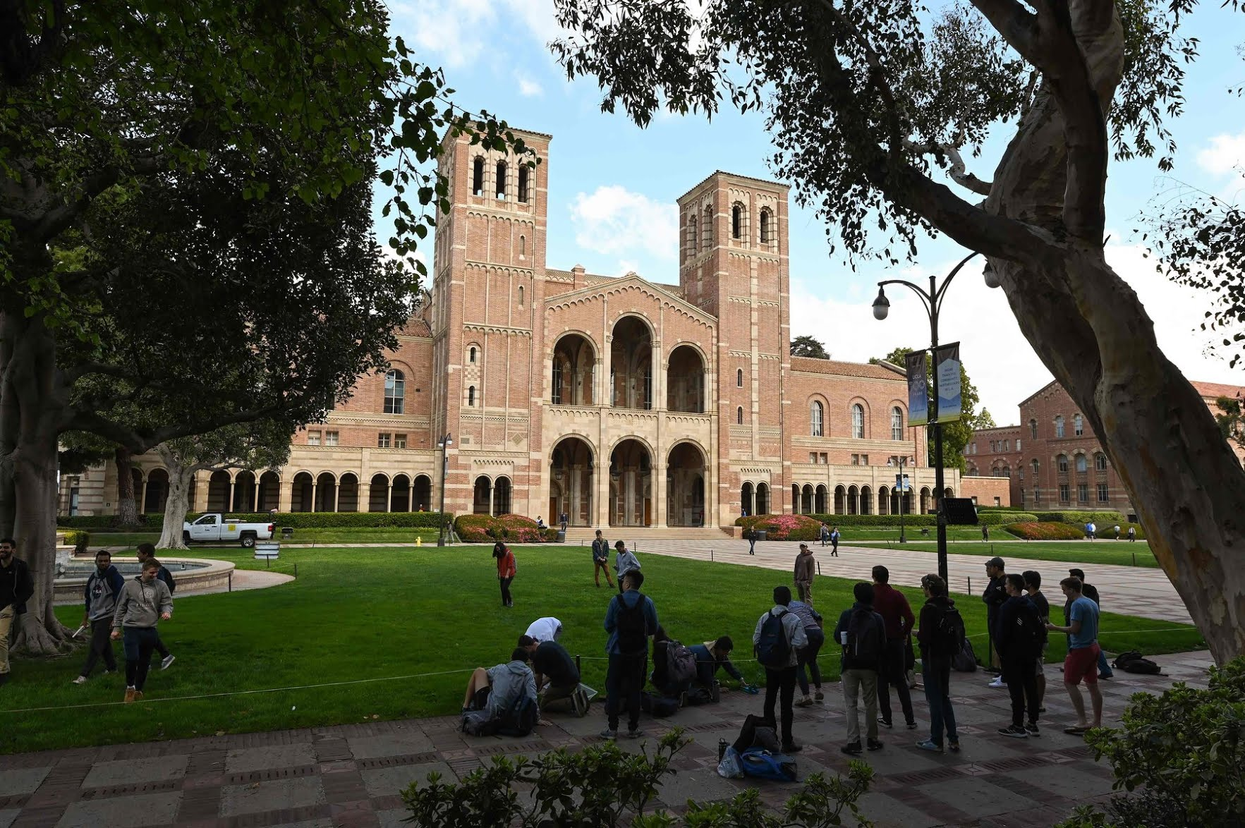The campus of the University of California, Los Angeles. Colleges are facing major revenue losses after shutting down their campuses in March.